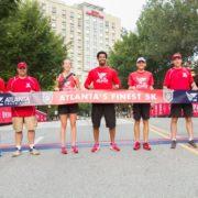 atlantas finest 5k atlanta police foundation finish line