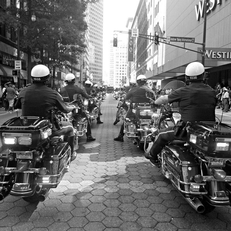 Police Bikes | History | Atlanta Police Foundation